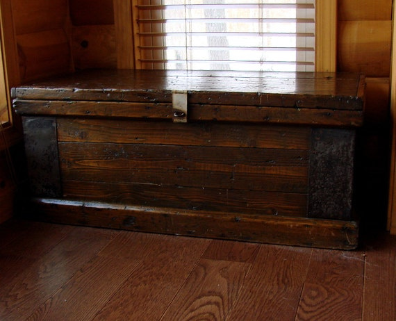 Antique Tool Chest Great Coffee Table Most Beautiful On Etsy