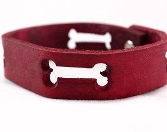 BonesTan Leather Bracelet