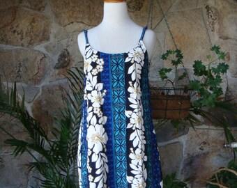 90s TROPICAL SUNDRESS vintage mini dress floral M