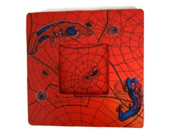Spiderman Picture Frame Spiderman Photo Frame