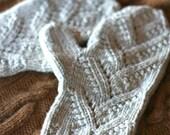 Knitting Pattern PDF - Adiri Lace Mittens with Under-Mittens