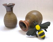 Queen Bee Holiday Party Miniature Vase set