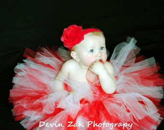 Christmas Peppermint Twist Tutu  Includes only the tutu