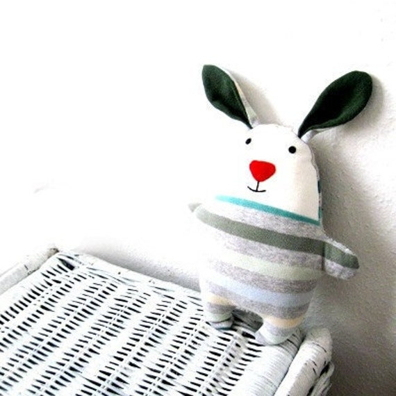 Pattern rag doll rabbit stuffed bunny soft toy bunnie softie sewing tutorial soft plush plushie pdf