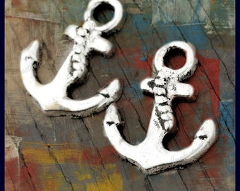 Anchor Charms (4 pack ) LOW SHIPPING
