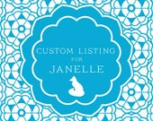 Custom Listing for Janelle - Tags: Dark Green Leaves with Cotton String - set of 12