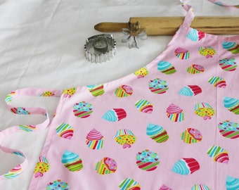 Cotton Candy Cupcakes Adult Apron