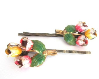 Boho Hairpins Vintage Hair Clips Wedding Flower Accessories Bobby Pins