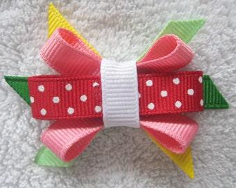 M2M Gymboree Strawberry Sweetheart Itty Bitty Bow