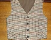 Boys Civil War Vest Size 6 to12