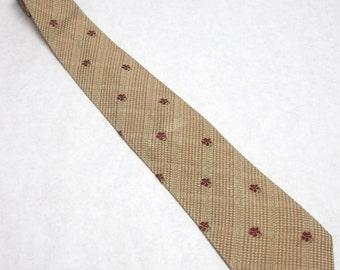 Vintage Prochownick Necktie Tan Long Tie