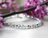 Baby Blue Crystal Bracelet