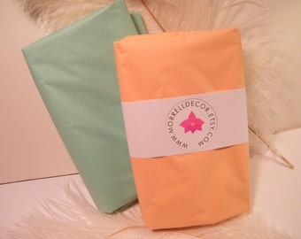 "Tissue Paper BULK- Peach and Mint Green Combo Pack 48 Sheets of 20"" X 30"" DIY Wedding Decor- Gift Wrap Idea-DIY Pom Pom Supplies"