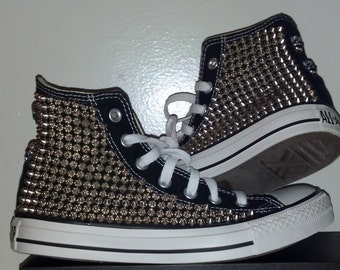Studded Spike Converse High Top