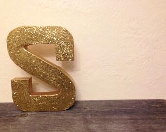 """12"""" Glitter Letter - ANY LETTER or COLOR"""