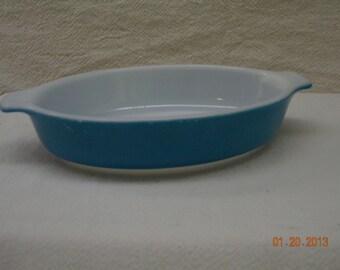Pyrex dish Turquoise