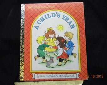 A Childs Year A Little Golden Book