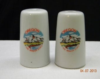 Salt and Pepper Shakers Oregon rv decor