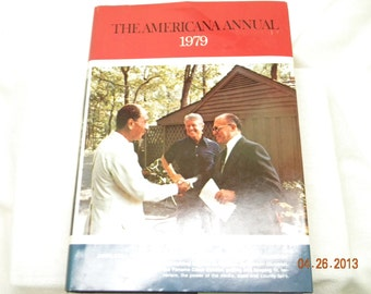 1979 The American Annual history book, birthday 1979