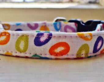 "Easter Eggs - Eco Cat Collar (8""-12"")"