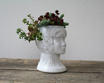 vintage planter / head vase / Succulent planter