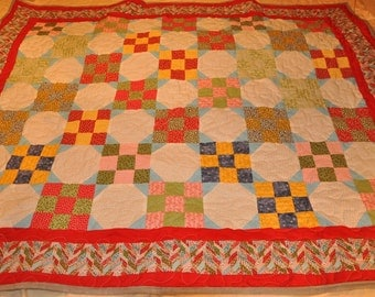 Nine Patch Snowball Quilt