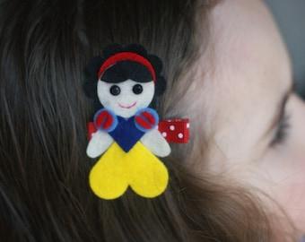 Snow White Inspired Hair Clip - So Cute