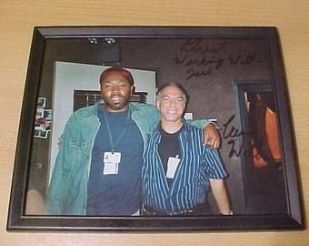 Star Trek Rod Simmons and Cress Williams vintage 8x10 Photo 80s