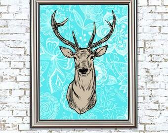 Oh Deer 8x10 Print