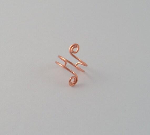 Ear Cuff Copper