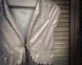 Romantic Bohemian Gypsy Jacket  - Upcycled - Size XS to Small  - One of a Kind