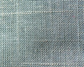 """One Piece - 27"""" x 29"""" - Metallic Linen Fabric- Linen with Glitz -  Home Furnishings and Clothing - Laundered for softness -  Color:  Glacial"""