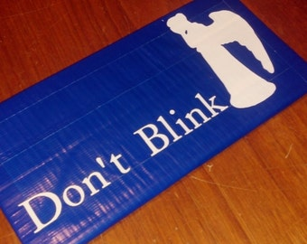 Weeping Angels Duct Tape Wallet