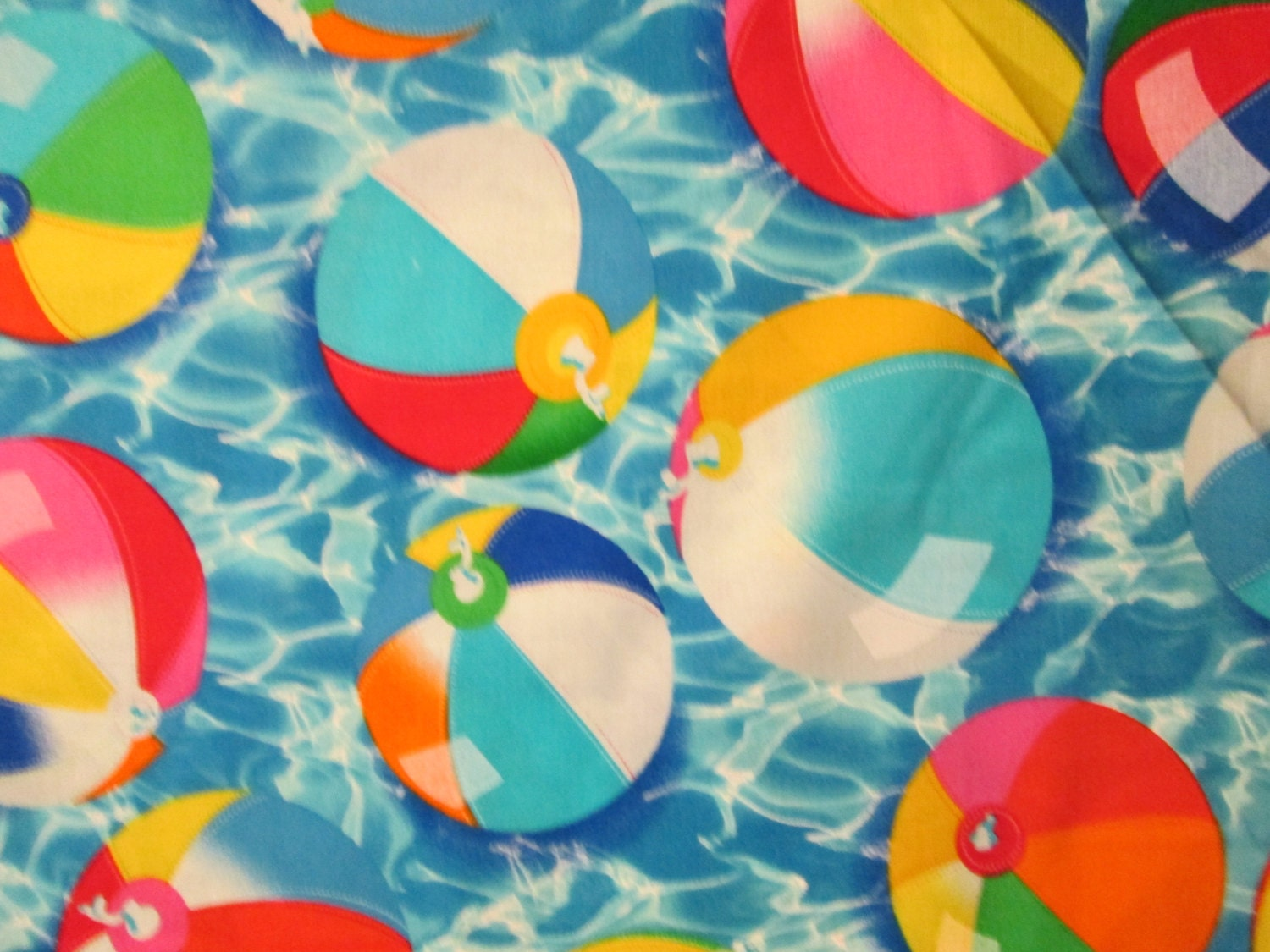 Fabrication Balle Beach Ball Cotton Fabric Fat