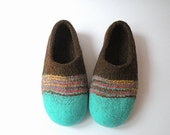 felted slippers Vacation