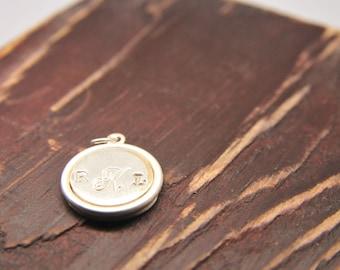 Add a Charm Single Sided/Add a Keepsake Monogrammed Charm