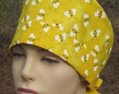 Surgical Scrub Hat Bumble Bee