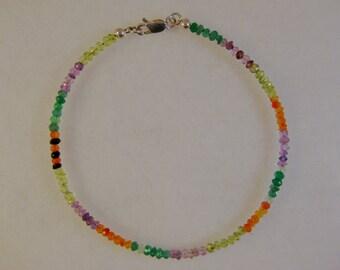 Sparkling mutigem rainbow bracelet: charity donation