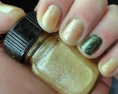 Sands of the Nile Magician's Secret line Nail Indie Franken Polishe Yellow Gliiter