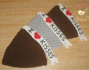 SALE: Chocolate Smooch Hat Pattern 104