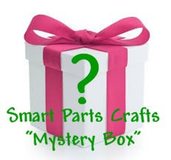 Grab Bag MYSTERY BOX of Smart Parts Craft Supplies  .  Worth at least 10 dollars