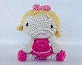 Sweet & Lovely Doll Amigurumi - PDF Crochet Pattern - Instant Download - Doll Crochet Cuddy Stuff Plush Toy