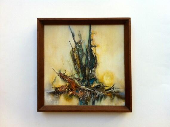 Jan Dorer Modernist Abstract Painting