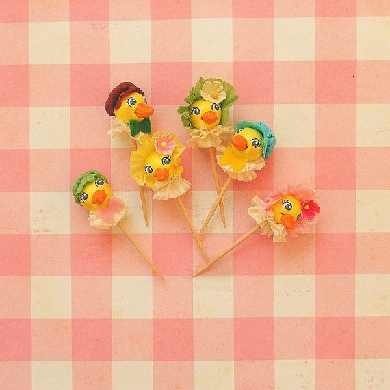 Ain't That Just Ducky  Cupcake Toppers