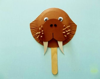 W is for WALRUS Craft kit