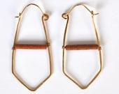 Terracotta Dagger Earrings