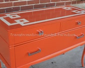 Painted Furniture Mid Century Dresser CUSTOM ORDER SOLD
