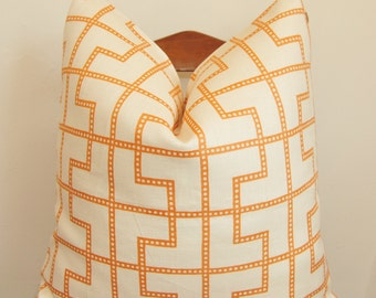 Decorative Pillow, Throw Pillow, Toss Pillow, Celerie Kemble, Bleecker, Spark, Made in USA,Handmade Pillow, Home Decor, Home Furnishing