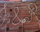 Engagement Party Decorations, Letter Initials Topper With Ampersand