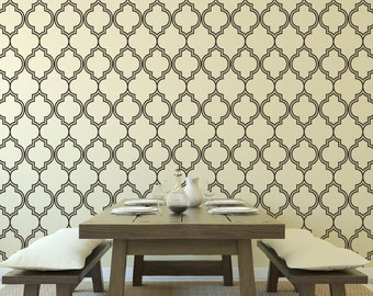 Wall Decal Moroccan Pattern Shapes
